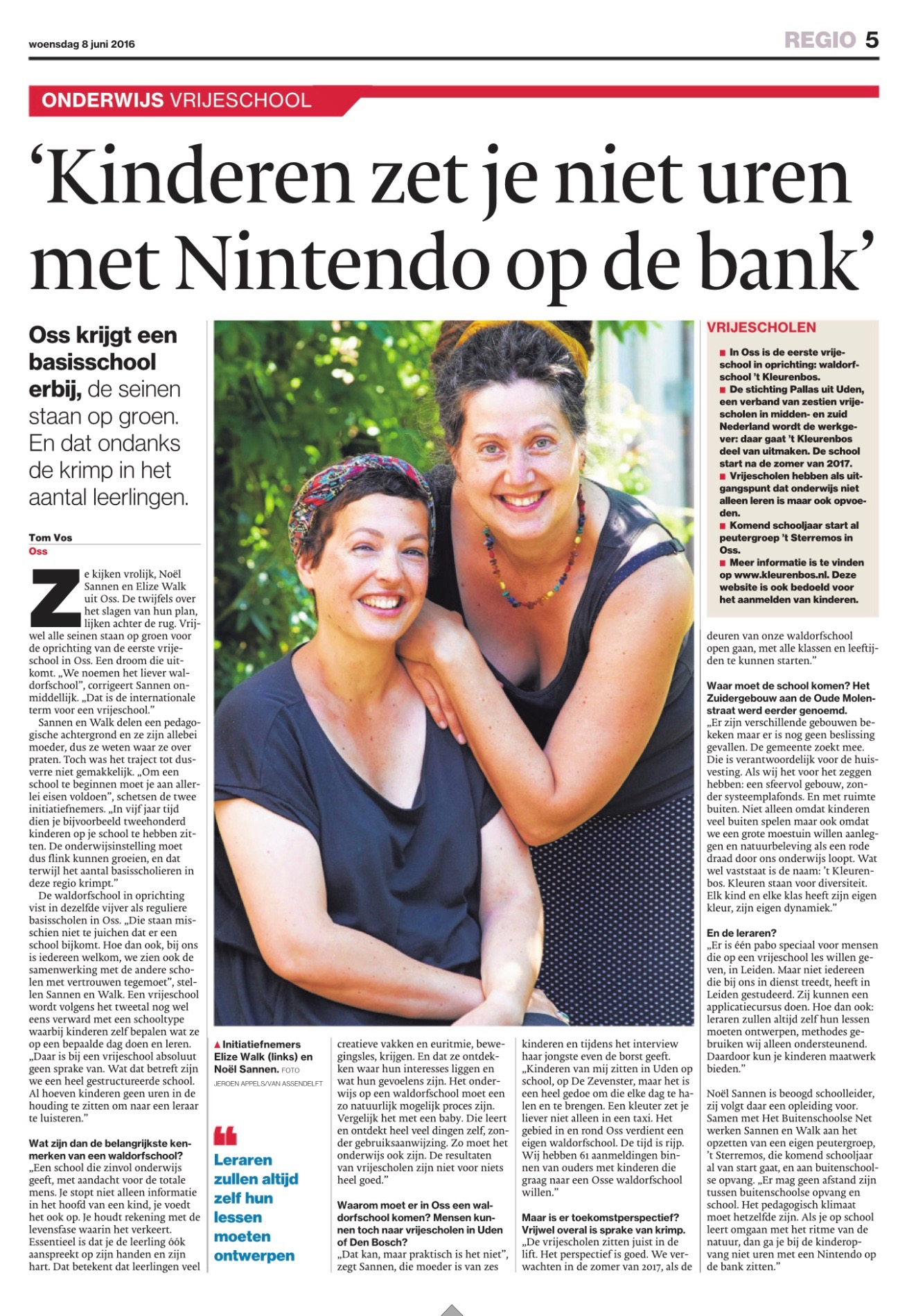 Brabants Dagblad 08.06.2016